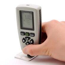 Hot Sale High Accuracy Portable Digital Coating Thickness Gauge EC770S 0-2000um/1um Handheld Film Width FE/NFE Probe Tester