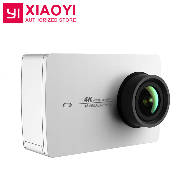 Original Xiaoyi Yi 4 K Action Kamera 2 Ambarella A9se Sport Kamera 2 155 Grad 2,19 12.0mp Cmos Eis Ldc Brillant international Version