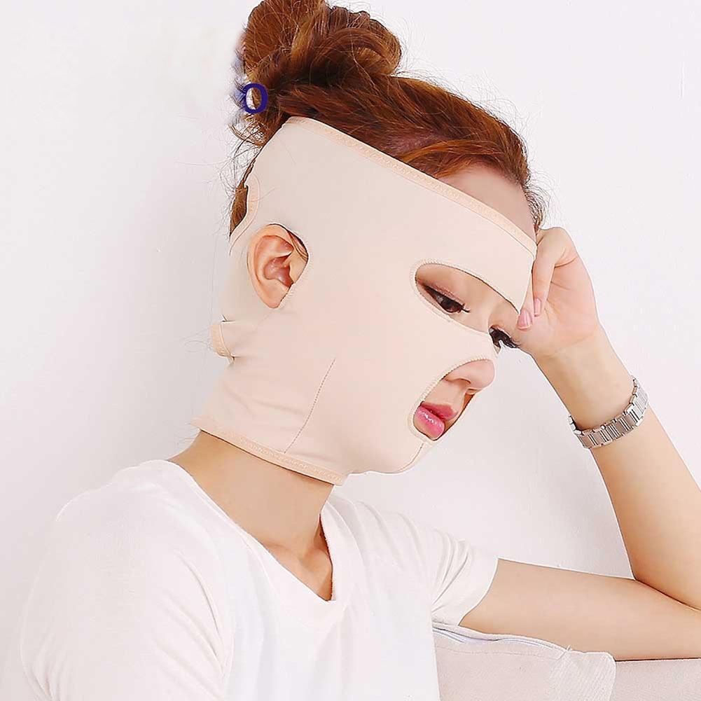 Lifting complet Masques Soins de Santé Minceur Visage Double Chin Beauté  Bandage Ceinture 86db0b24c8f