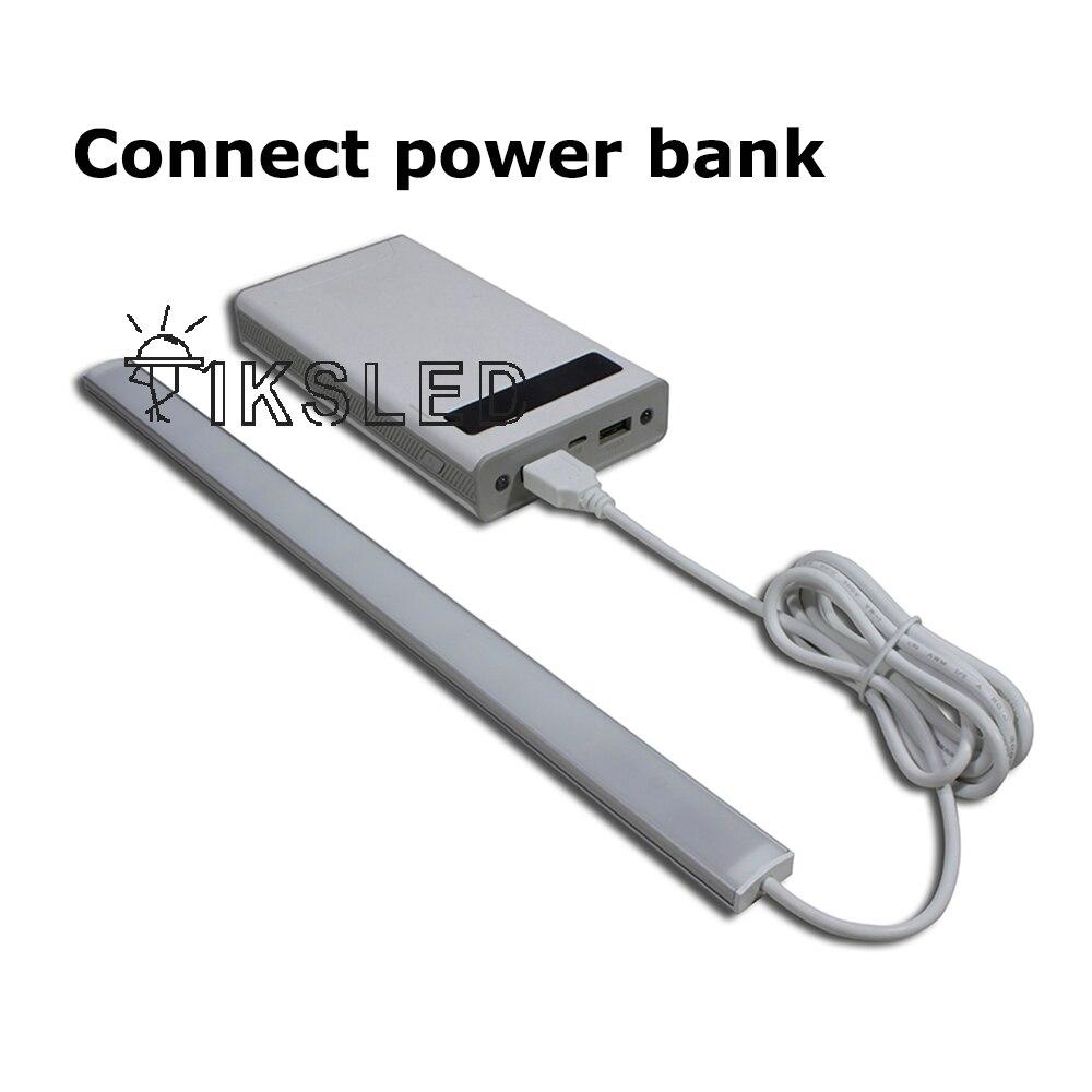 灯条连接充电宝