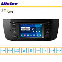 Liislee For Fiat Punto 2012~2013 Car GPS Nav Navi Map Navigation Radio Stereo TV DVD iPod BT HD Screen S160 Multimedia System
