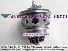 Free Ship Water Cool Turbo Cartridge CHRA TF04 49135-03101 49135-03100 49135-03110 For Mitsubishi Pajero Shogun Delica 4M40 2.8L