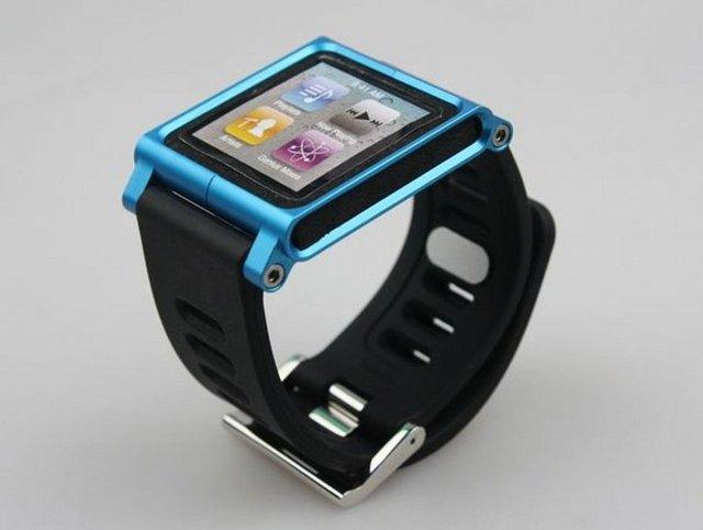 Luna Tik Watch Band Wrist Cover Blade Aluminum For iPod Nano 6th Free Shipping