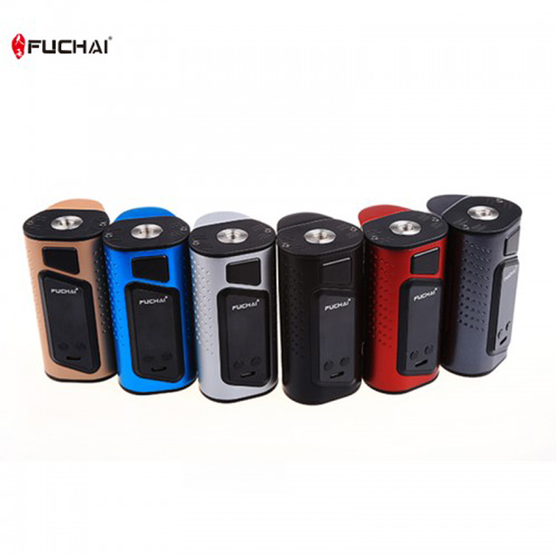 все цены на Original Sigelei FuChai Dual 3 Mod 3 battery-slot version 225w TC Box Mod Support 0.1ohm 3.0ohm Tank Atomizer VS RX300 GEN3 Vape