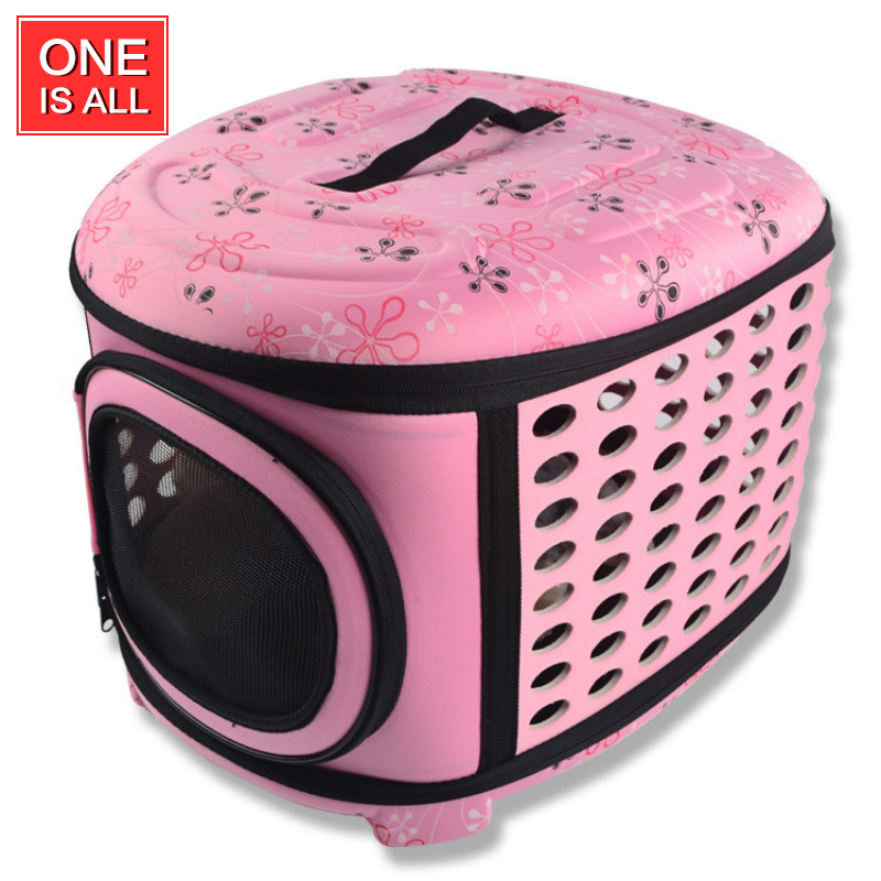 Pet Carrier portable folding Cat bag Eva Pet bag outdoor Pet Travel Bed dog House breathable