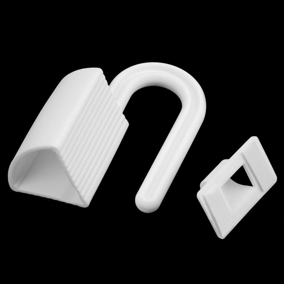 2 шт. Детские палец руки протектор дверных петель Пластик щипка безопасности Пробка