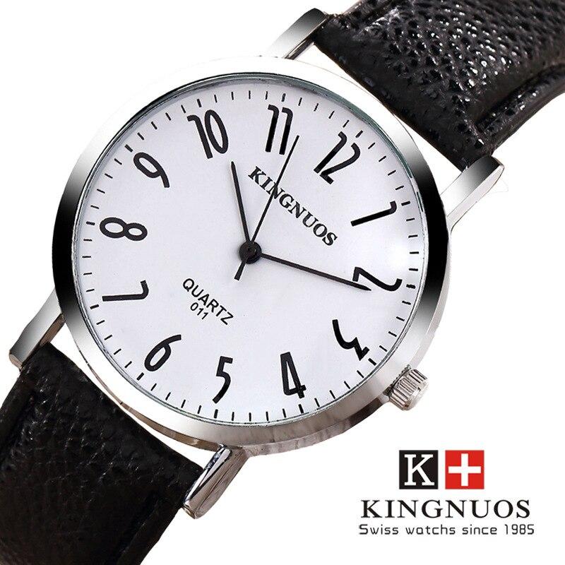 купить Relogio Masculino Men Quartz Watch Fashion Casual Leather Watches Zegarki Meskie Men Waterproof Wristwatch Reloj Mujer 2017 New по цене 570.5 рублей