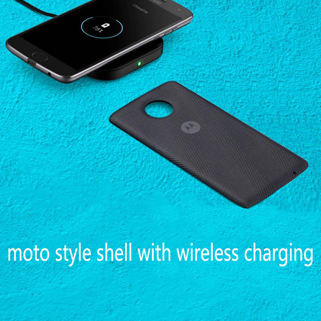online store 2a93e 12abf US $199.0 |Moto style shell with wireless charging case for motorola moto  Z3 Play Z2 force Z droid phone , Moto mods Magnetic adsorption-in Fitted ...