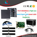 Fundición a presión de Aluminio A Todo Color de Interior P3.91 LLEVÓ Alquiler de Pantalla 500*500mm SMD RGB LLEVÓ Vitrina