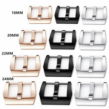 316 Stainless Steel 20mm 22mm 24mm 26mm Silver Black And Rosegold Screw Buckle Clasp For Pam Big Watch