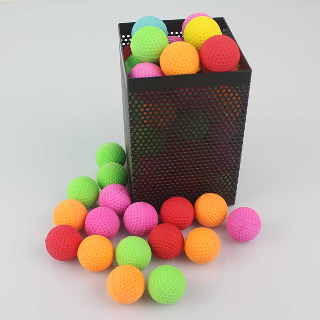 100 шт Круглые заполненные пеной семь цветов Смешанные шарики пули совместимые для XVIII-6000/MXVI-4000/MXVII-10K Apollo Игрушки для мальчиков подарок
