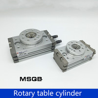 Type MSQB10A SMC 20A 30A Rotary Table MSQB50R 90 Degree 180 Degree HRQ20 Rotary Cylinder