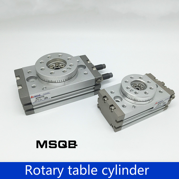 Type MSQB10A SMC 20A 30A rotary table MSQB50R 90 degree 180 degree HRQ20 rotary cylinder цены онлайн