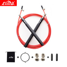 CIMA Jump Rope Professional Crossfit steel wire Speed Skipping For Gym Fitness Sports Training jump ropes with Carry bag