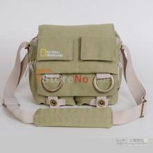 Национальный географический NG2345 профессиональный Gopro DSLR камеры мешок / чехол путешествия одного плеча рюкзак