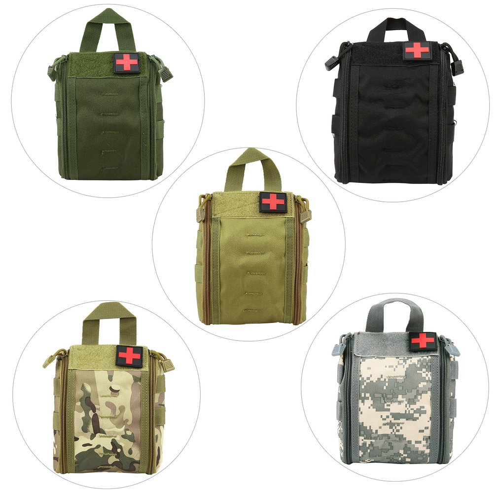 First-Aid-Bag Medical-Case Multifunctional Waist-Pack Portable Outdoor Survival-Kit Emergency-Bag
