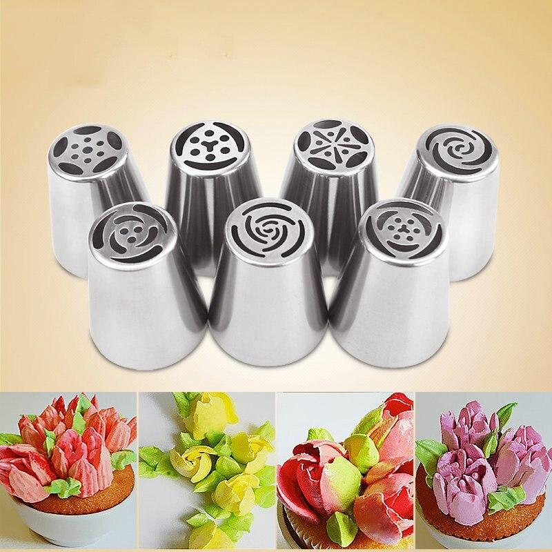 1 piezas boquillas rusas puntas de tubería de hielo boquillas de - Cocina, comedor y bar