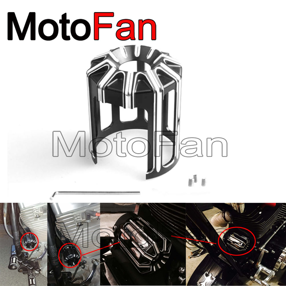 New Motorcycle Oil Filter Cover Machine Oil Grid Beveled Styling Black For Harley Davidson Sportster Touring Softail Dyna CVO brand new motorcycle cnc rc fuel tank gas cap fit for 1996 2014 harley sportster dyna touring softtail