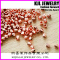 Nugget Beads 3mm200pcs/lot Faceted Rose Gold loose beads,layer Copper Alloy