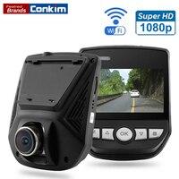 Conkim Car DVR Camera Novatek 96658 DVRs WiFi APP Mini Hidden Cam Full HD1080P Sony IMX323 G-Sensor Car Video Recorder Dash Cam