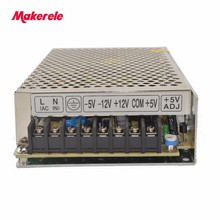 5v/15v/-5v/-15v quad output customized switching power supply CE low price direct sale professional supplies 60w Q-60C