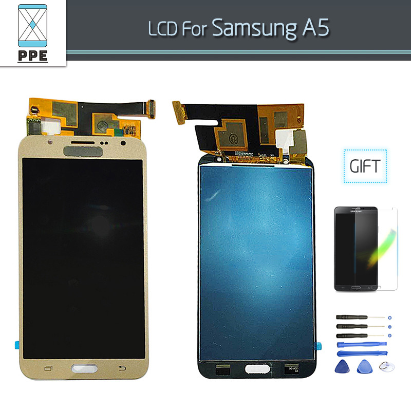 Samsung A5 LCD GOLD (4)