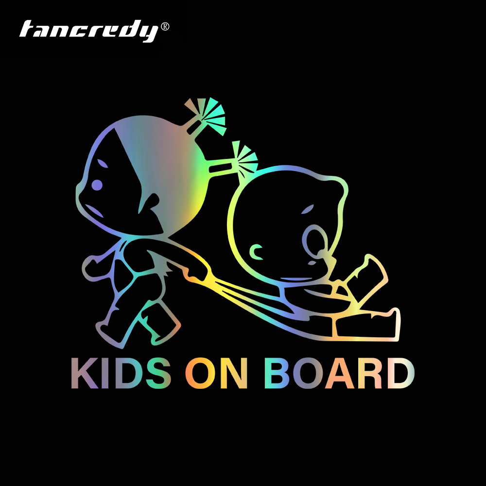 Baby On Board Baby Child Window Bumper Car Sign Decal Sticker Black White Hot