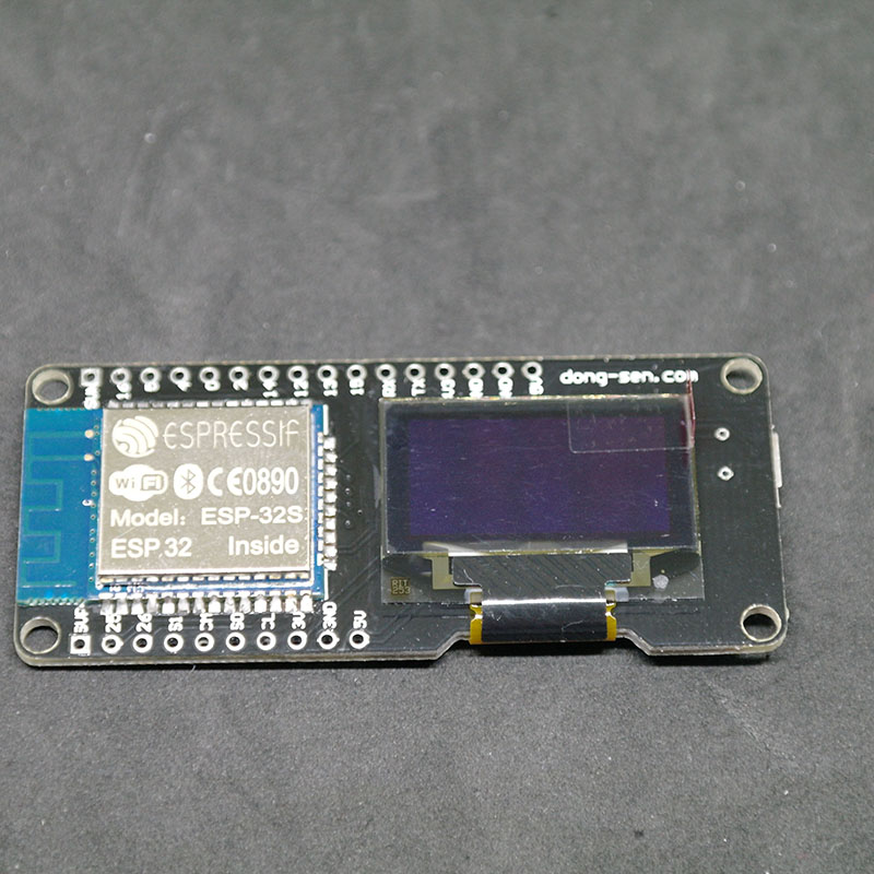 D-duino-32 (NodeMCU& Arduino& ESP3212) WiFi Internet of Things Development Board CP2102