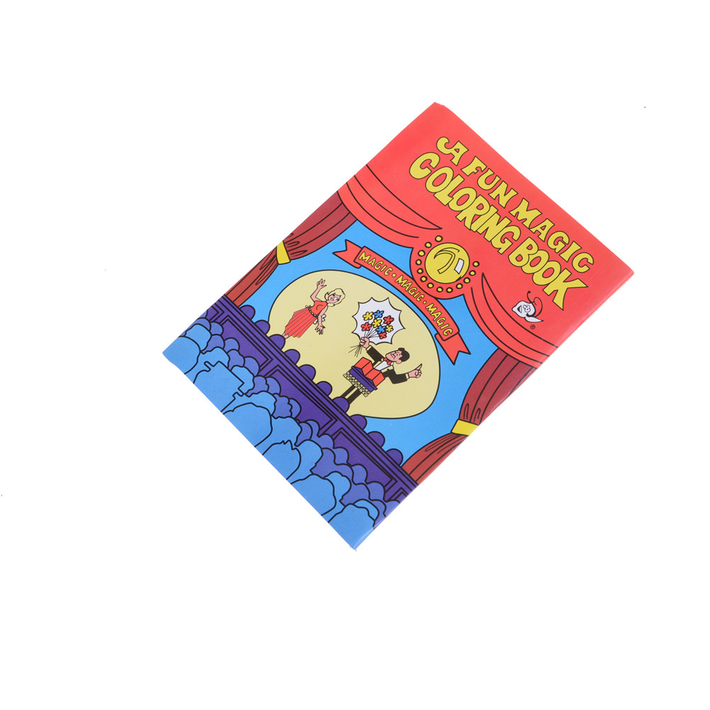 aliexpresscom buy 1 pcs magic coloring book magic tricks best for children stage magic toy from reliable coloring book magic trick suppliers on middle - Coloring Book Magic Trick