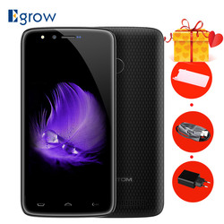 HOMTOM HT50 Smartphone 5500mAh MTK6737 Quad Core Android 7.0 3GB RAM 32GB ROM Fingerprint 5.5 Inch 4G LTE OTG OTA Cell phones