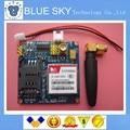 Бесплатная доставка 1 ШТ./ЛОТ Новый SIM900 SIM900A МИНИ V4.0 Беспроводной Передачи Данных Модуль GSM GPRS Доска Комплект ж/Антенна
