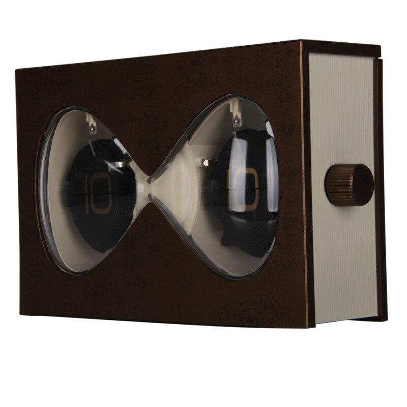 Sablier forme livre automatique Flip horloge cadeau promotionnel Flip Page série en plastique créatif petits ornements bureau bureau horloge
