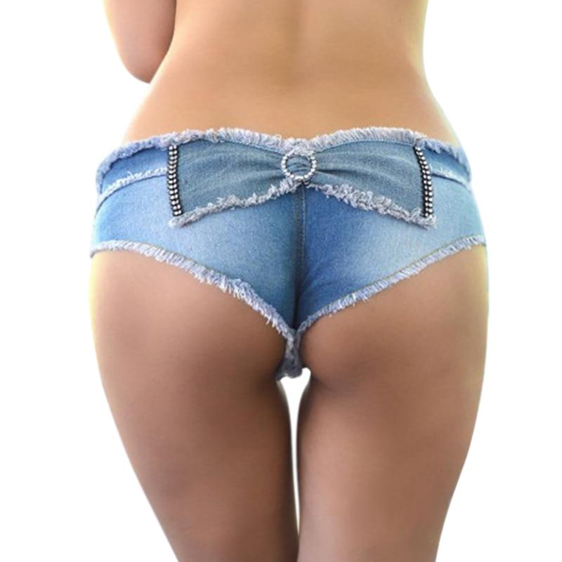 Denim Shorts Sexy 37