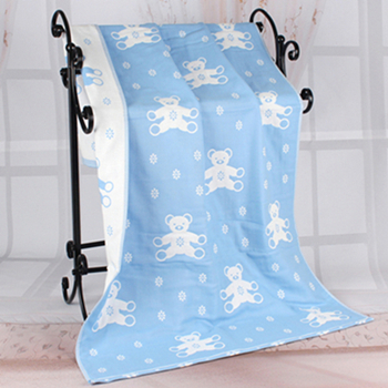 Cotton 70*140cm Baby Blanket Muslin Swaddle Wraps Cotton Bamboo Children Boy's Girl's Soft Coral Blanket