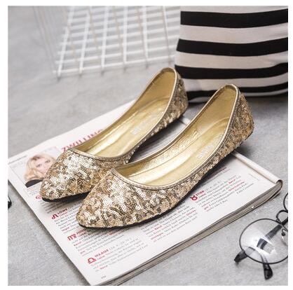 41 Mujeres Mejor Tamaño 2017 2 Nuevas 3 Manera Bajos Planos Señora Mujer Los Zapatos Eur La 1 Vogue Size35 Grande Venta De vqwgq