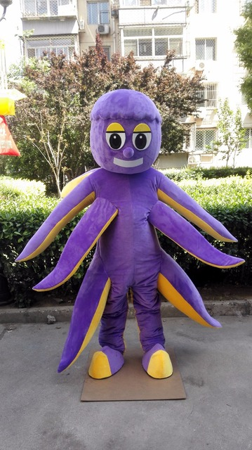 Octopus Mascot Sqiud Costume Custom Anime Cosplay Kits Mascotte