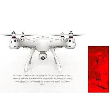 FPV RTF Quadcopter   SYMA X8PRO Gps Дрон WI-FI с видом от первого лица 720P HD Камера или в режиме реального времени H9R 4K Камера Дрон Квадрокоптер с 6 осями и функциями удержан...