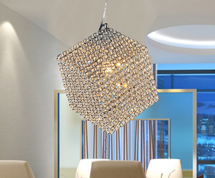 LED Light Modern Sconce K9 Crystal Chandelier Lamp E27 Stairs Aisle Foyer Lamps Shade Home Decor
