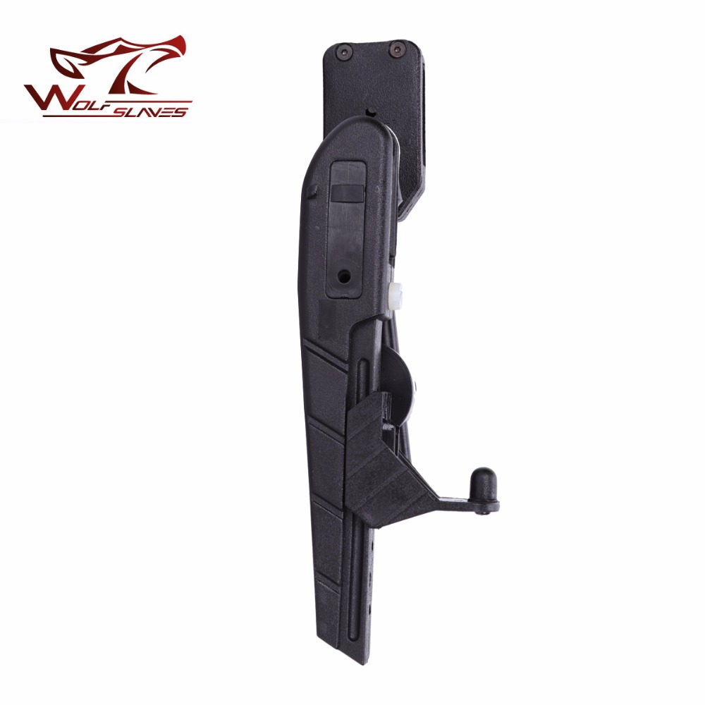 Wolfslaves IPSC Quick Shoot Holster Tactical pistol gun holstor Black ABS Plastic pouch Outdoor Hunting Accessories