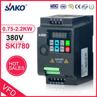 SAKO SKI780 380V 0.75KW/1.5KW/2.2KW Mini VFD Variable Frequency Inverter for Motor Speed Control Converter