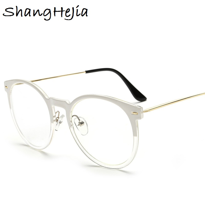 9914dc859c High quality Clear Glasses Frames for Women Brand Designer Optical  EyeGlasses Fashion Metal legs Eyewear