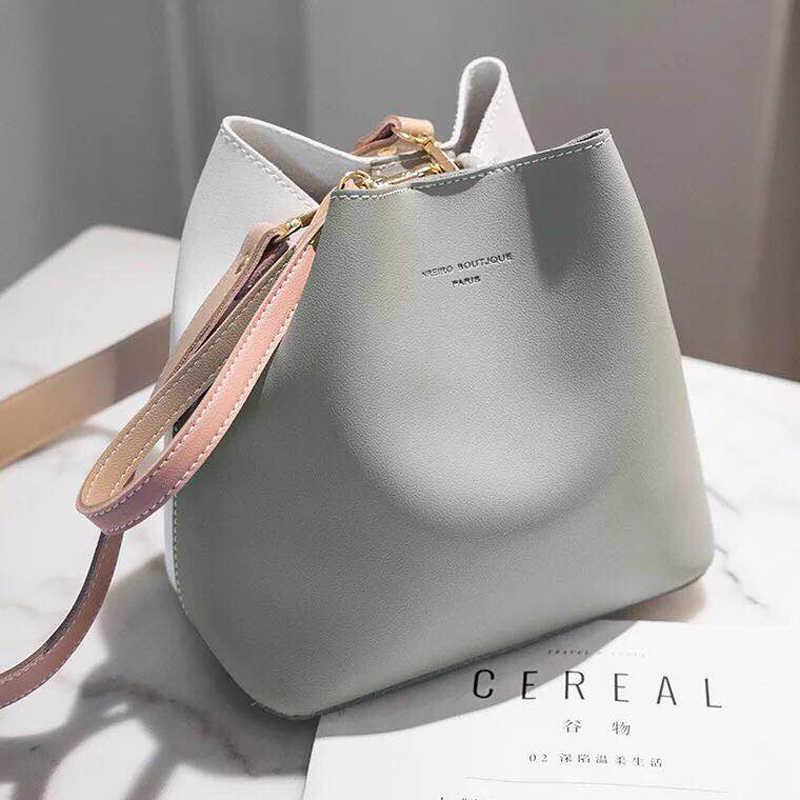 727419f7ddc Luxury Handbags Women Bags Designer 2019 Spring Bucket Ladies Hand Bag Hit  Color Casual Mini Shoulder Bags Bolsa sac a main