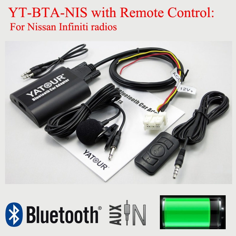 Yatour car digital MP3 interface BTA with Remote control for Nissan Infiniti radios car usb sd aux adapter digital music changer mp3 converter for volkswagen beetle 2009 2011 fits select oem radios