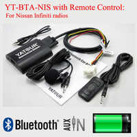 Yatour car digital MP3 interface BTA with Remote control for Nissan Infiniti radios