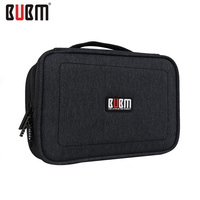 Travel Double Layers Large Organizer Bag Can Carry Cable Put HDD USB Flash Drive Waterproof Storage