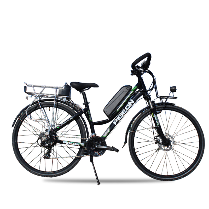 Electric Road Bike >> Us 1407 12 12 Off 700c Electric Travel Bike Electric Assistance Road Bicycle Double Battery 200km Long Rang 48v 250w High Speed Motor Ebike In
