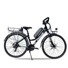 700c Electric travel bike Electric assistance road bicycle double battery 200km long rang  48V 250w high speed motor  ebike
