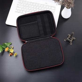 2019 estuche de bolsa de almacenamiento portátil con cremallera impermeable para ZOOM H1, H2N, H5, H4N, H6, F8, grabadoras de música Q8, adaptador de trípode para micrófono