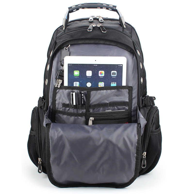 2019 горячая распродажа мужская дорожная сумка мужской рюкзак Swiss сумки из полиэстера водонепроницаемый Противоугонный рюкзак рюкзаки для ноутбука мужские брендовые сумки