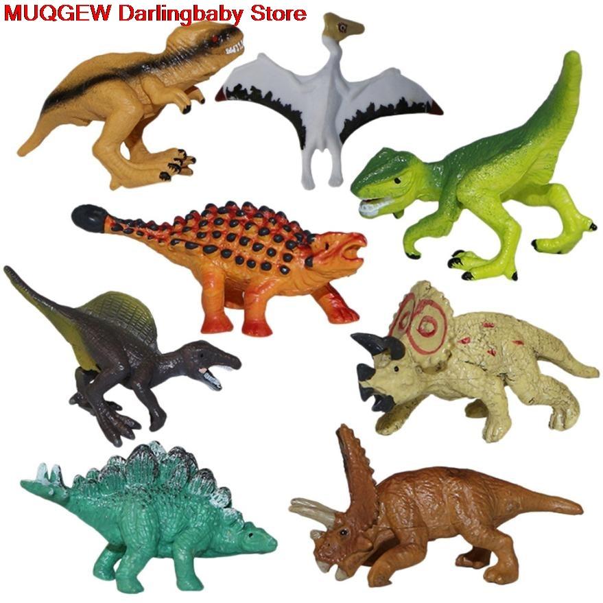 Learning Educational Simulated Mini Cartoon Dinosaur Model Fun Funny Gadgets Novelty Interesting Toys For Children Birthday Gift